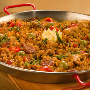 Chicken Paella Recipe Ingredients: